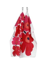 Marimekko – Tea Towel Unikko 'Red' Small Poppy